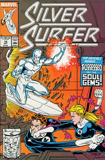 Silver Surfer (1987) 16 - Ron Lim