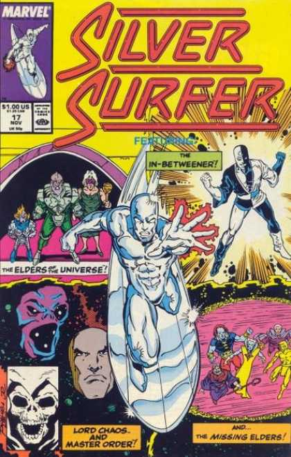 Silver Surfer (1987) 17 - Marvel - Elders Of The Universe - November - Lord Chaos - Surfboard - Josef Rubinstein, Ron Lim