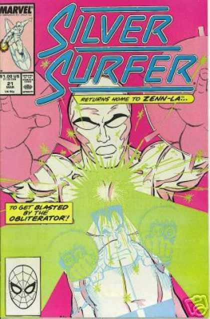 Silver Surfer (1987) 21