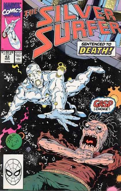 Silver Surfer (1987) 43 - Ron Lim