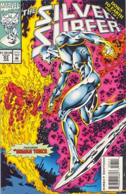 Silver Surfer (1987) 93 - Bart Sears