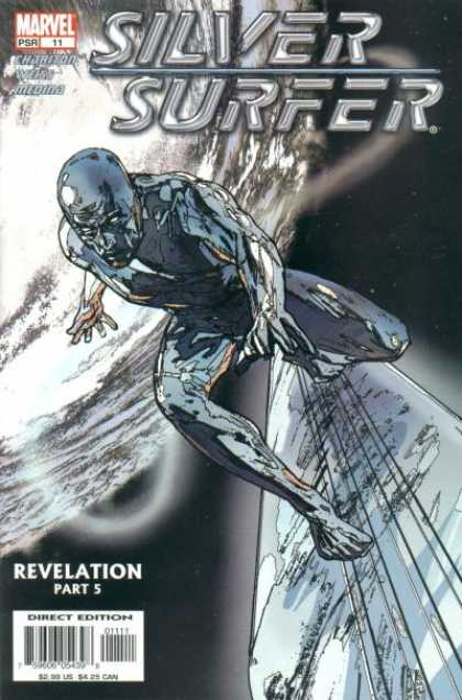 Silver Surfer (2003) 11 - Marvel - Revelation - Liquid - Surfboard - Man - Alex Maleev