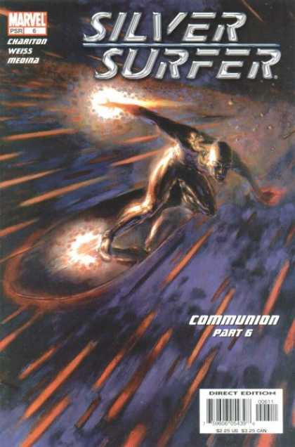 Silver Surfer (2003) 6 - Communion Part 6 - Chariton - Weiss - Medina - Direct Edition - Paolo Rivera