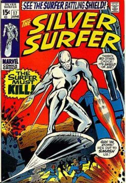 Silver Surfer 17 - Barry Windsor-Smith
