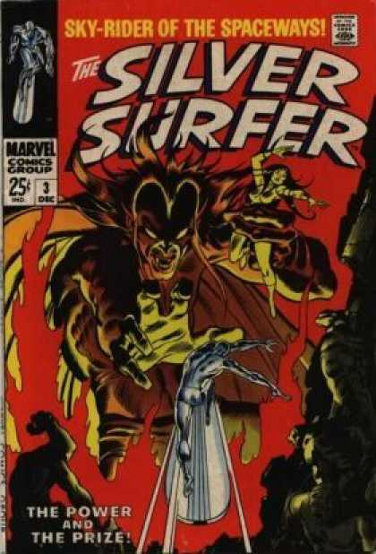 Silver Surfer 3 - Marvel Comics - Marvel - The Silver Surfer - The Prize - The Power - Joe Sinnott, John Buscema