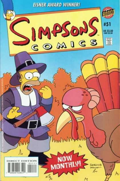 Simpsons Comics 51