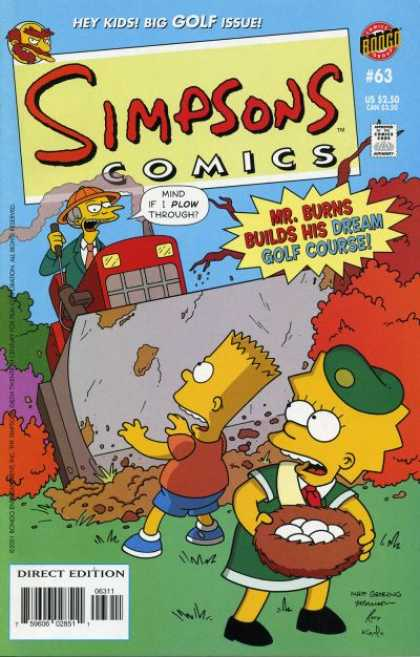 Simpsons Comics 63
