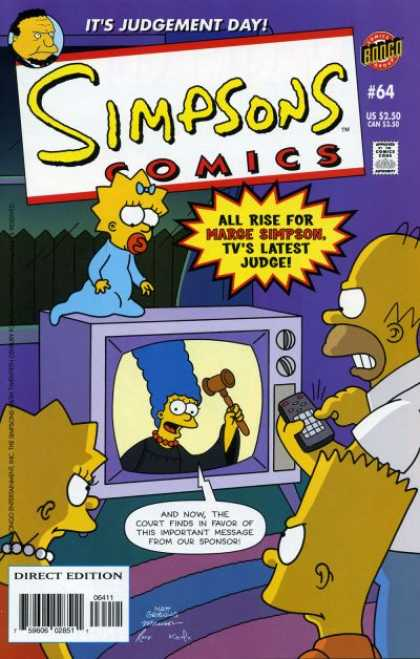 Simpsons Comics 64
