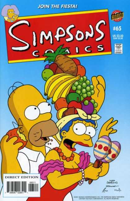 Simpsons Comics 65 - Bill Morrison, Matt Groening