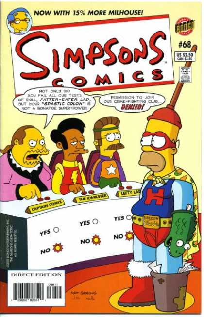 Simpsons Comics 68 - Matt Groening