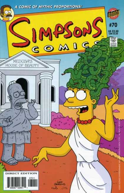 Simpsons Comics 70