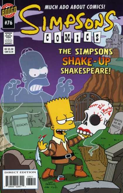 Simpsons Comics 76