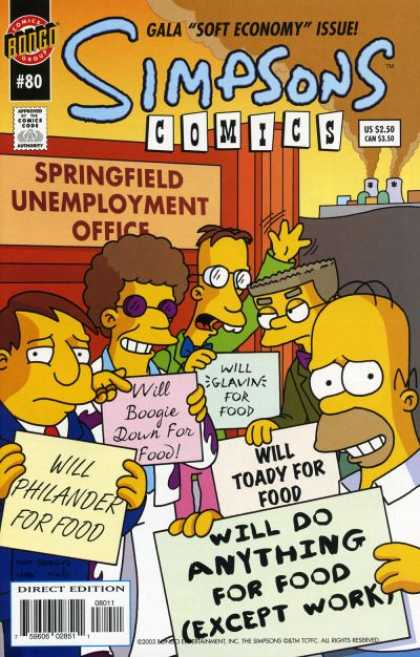 Simpsons Comics 80 - Matt Groening
