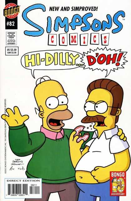 Simpsons Comics 82 - Bill Morrison, Matt Groening