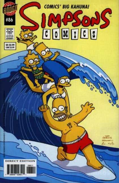 Simpsons Comics 86