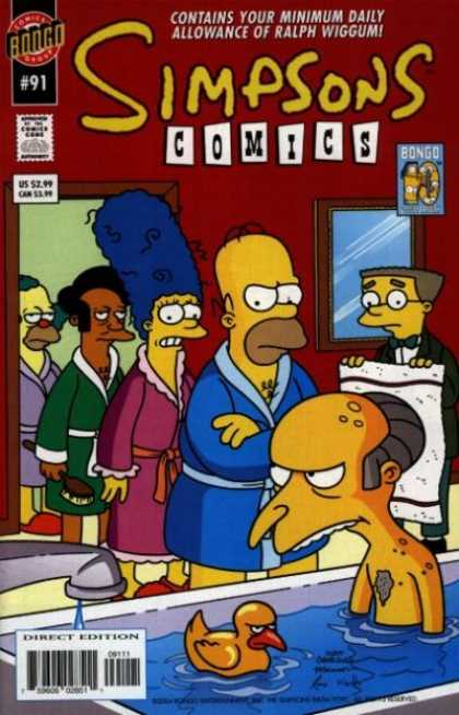 Simpsons Comics 91