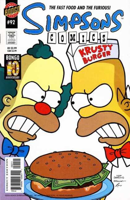 Simpsons Comics 92 - Bill Morrison, Matt Groening