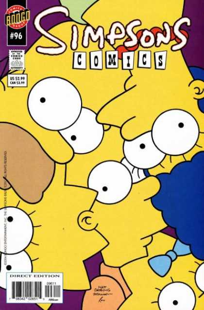 Simpsons Comics 96 - Bill Morrison, Matt Groening