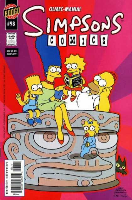 Simpsons Comics 98 - Jason Ho, Matt Groening