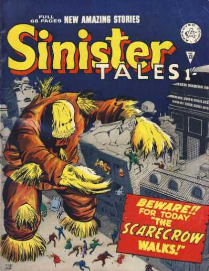 Sinister Tales 13 - Scarecrow - City - People - Straw - Giant