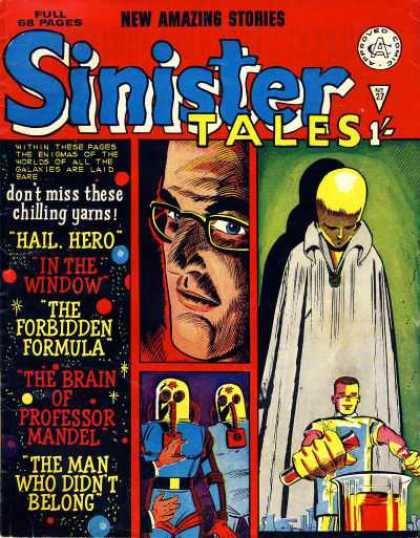 Sinister Tales 27 - Hail Hero - In The Window - Yellow Head - Ghost - Forbidden Formula