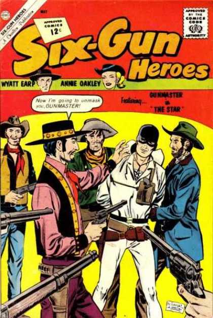 Six-Gun Heroes 68 - Thieves - Men - Fight - Chase - Rescue