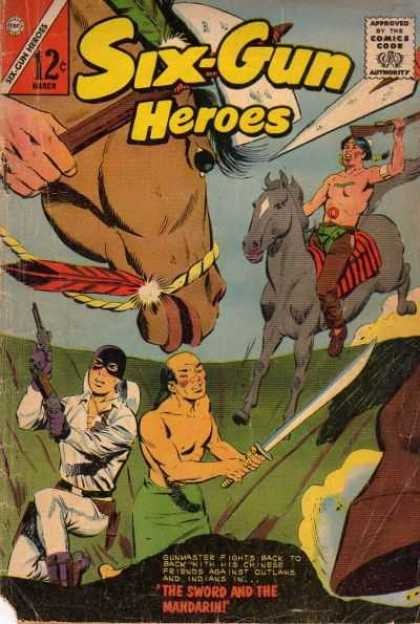 Six-Gun Heroes 73 - Six-gun - Heroes - The Sword And The Mandarin - Chinese - Indians