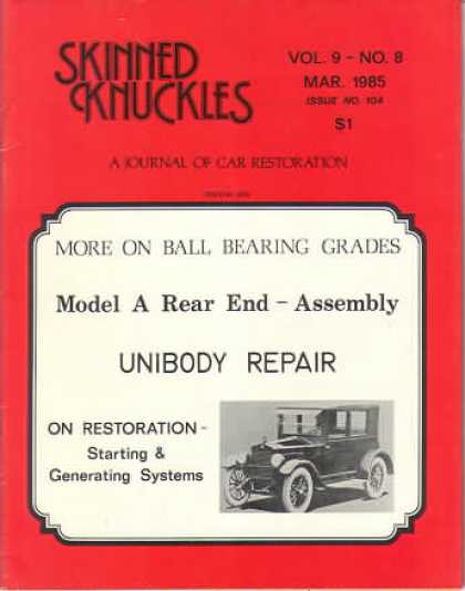 Skinned Knuckles - March 1985