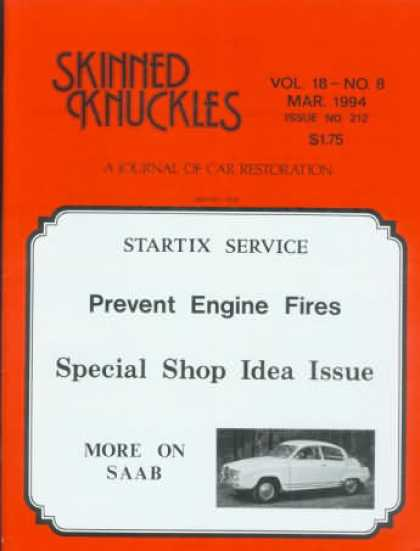 Skinned Knuckles - March 1994