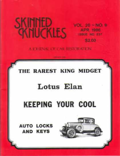 Skinned Knuckles - April 1996