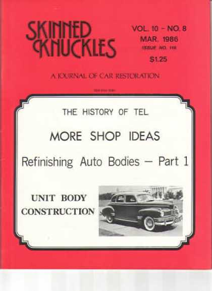 Skinned Knuckles - March 1986