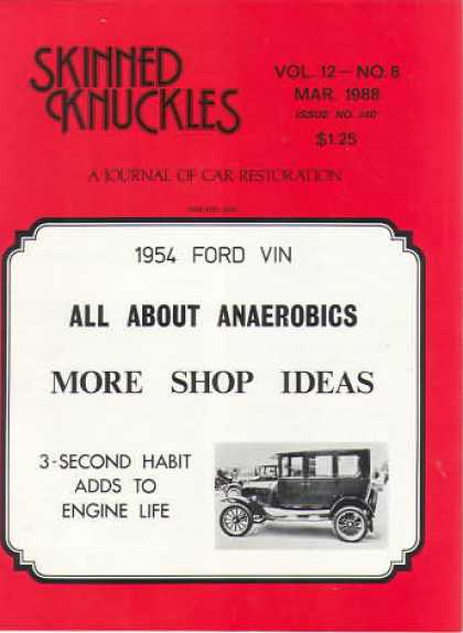Skinned Knuckles - March 1988