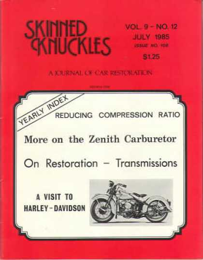 Skinned Knuckles - July 1985
