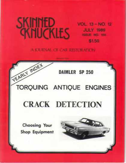 Skinned Knuckles - July 1989