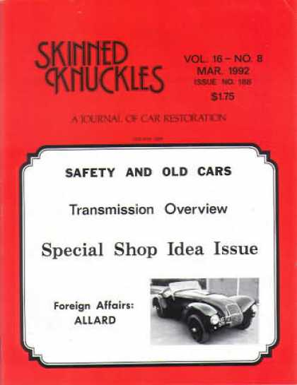 Skinned Knuckles - March 1992