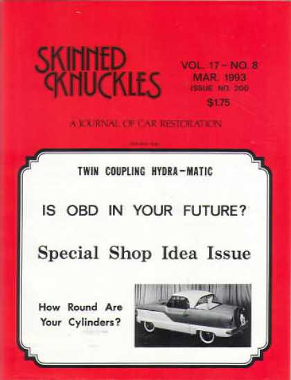 Skinned Knuckles - March 1993