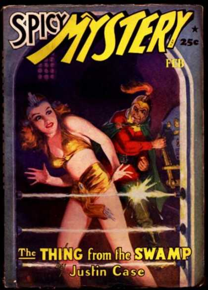 Snappy Mystery Stories 38