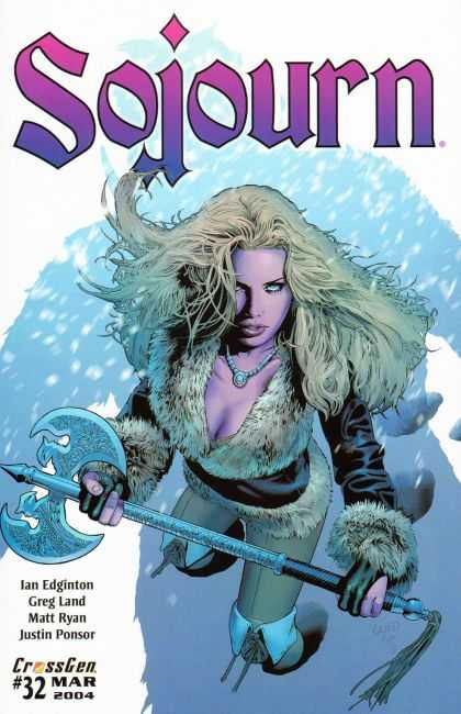Sojourn 32 - Battle Axe - Snow - Shadow - 32 - Crossgen - Matt Ryan