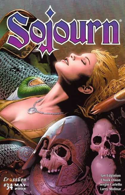 Sojourn 34 - Skulls - Blonde Hair - Armor - 2004 - 34 - Matt Ryan