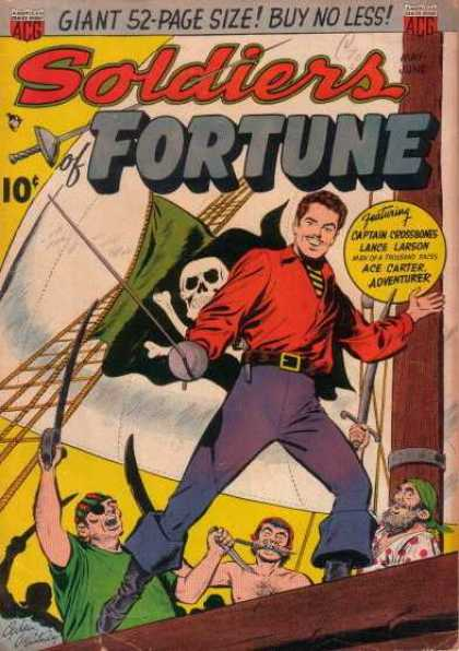Soldiers of Fortune 2 - Skull - Man - Pirates - Rope - Sword