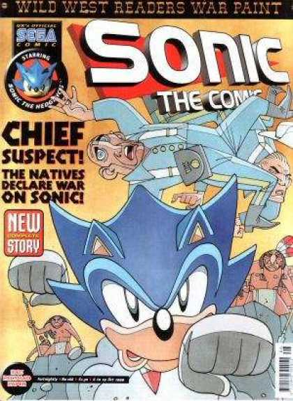 Sonic the Comic 166 - New - Story - Chief - Suspect - Natives