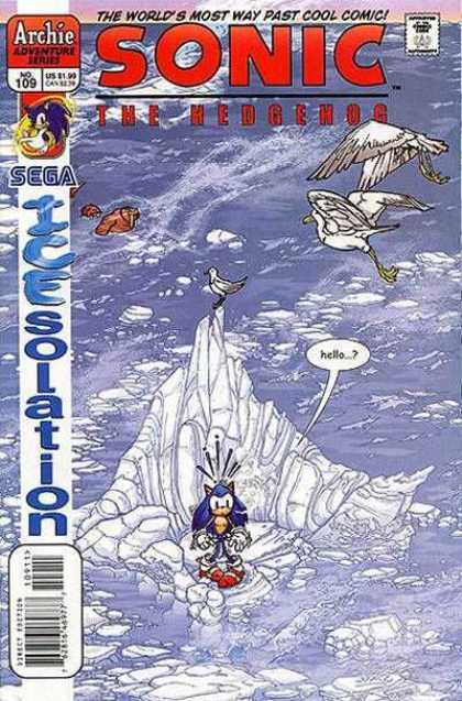 Sonic the Hedgehog 109 - Archie - Approved By The Comics Code Authority - No109 - Sega - Water