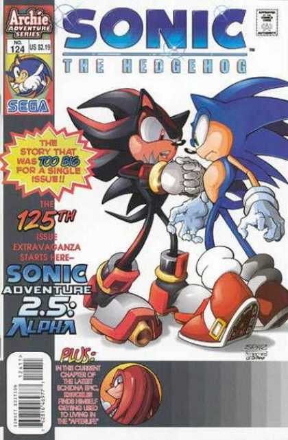 Sonic the Hedgehog 124 - Archie Adventure Series - The Story That Was Too Big For A Single Issue - Sega - Afterlife - Sonic Adventure