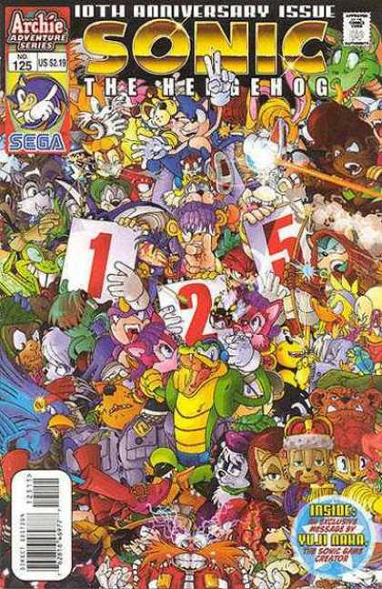 Sonic the Hedgehog 125
