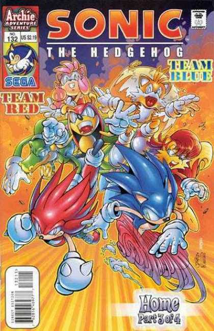 Sonic the Hedgehog 132 - Archie Adventure Series - Team Red - Team Blue - Home Part 3 Of 4 - Tails
