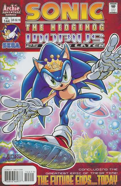 Sonic the Hedgehog 144 - Ken Penders