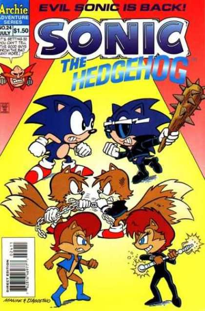Sonic the Hedgehog 24 - Evil Sonic - Spiked Club - Battle - Tails - Chains - Jon D'Agostino