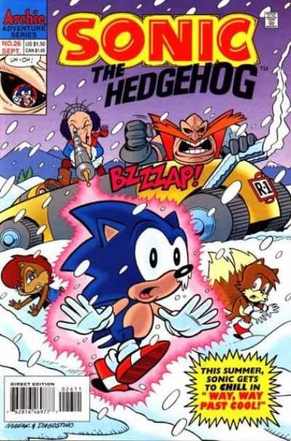 Sonic the Hedgehog 26 - Jon D'Agostino
