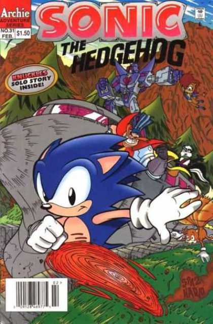 Sonic the Hedgehog 31 - A Fast Animal - Intelldgent Cat - Friends Saver - Best Book For Child - Childesh Book