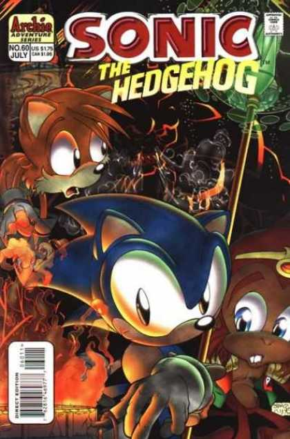 Sonic the Hedgehog 60 - Fire - Staff - Demon - Adventure Series - Spell